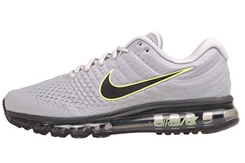 Nike Mens Air Max 2017 Running Shoes (13, Wolf Grey/Black/Pure Platinum)