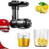 Estrattore di succo di agrumi per Kitchen Aid, accessori Kitchen AID per spremere a freddo, succo di spremitura lento, per creare verdure e succhi di frutta freschi e sani.
