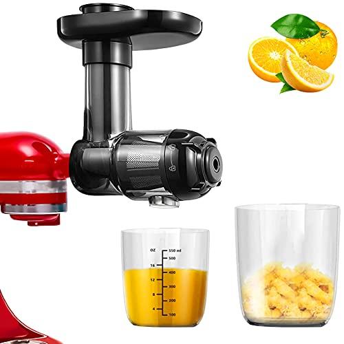 Accesorio para picadora de carne, accesorio para robot de cocina, accesorio de licuadora compatible con todos los robot de cocina KitchenAid/PHISINIC fácil de limpiar, alto rendimiento de zumo