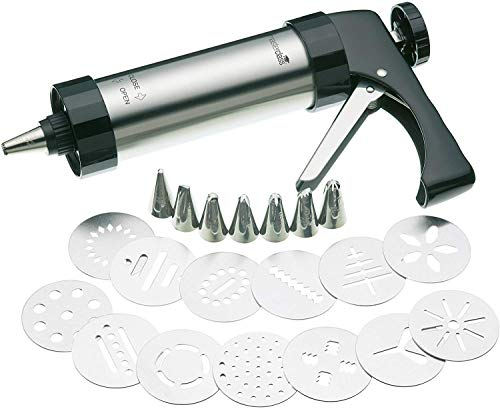 Kitchen Craft Set Pâtisserie Pistolet et Douilles Incl.