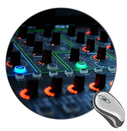 dj Mixer Lights Mauspad, rutschfestes Gummi-Gaming-Mauspad für Desktop, Laptop, Tastatur