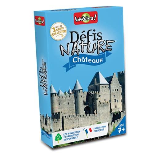 BIOVIVA - Défis Nature - Châteaux - Jeu de société ludique dès 7 ans - 282666