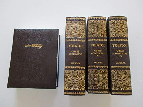 OBRAS COMPLETAS (de Tolstoi) (tomo I) GUERRA Y PAZ