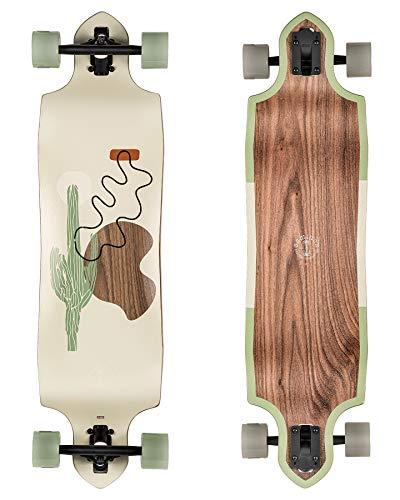 Globe Longboard Geminon Micro-Drop Walnut/Cacti 37