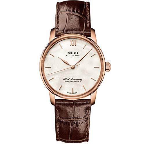 Mido Baroncelli II Limited Edition M007.236.36.118.00 - Orologio da polso da donna, 33 mm