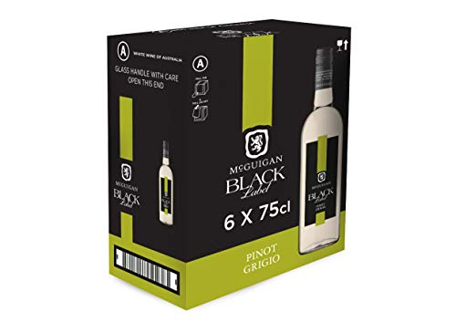 McGuigan Black Label Pinot Grigio, 75 cl (Case of 6)