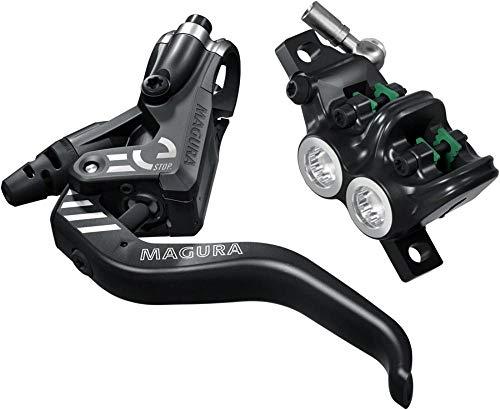 Magura MT5 eSTOP - Palanca de Aluminio de 2 Dedos (Izquierda/Derecha, Longitud del Cable de 2200 mm, Freno Individual, Incluye Accesorios)