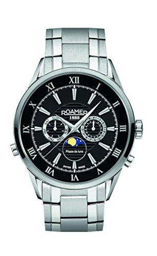 Roamer 508821 41 53 50 - Reloj, de color negro