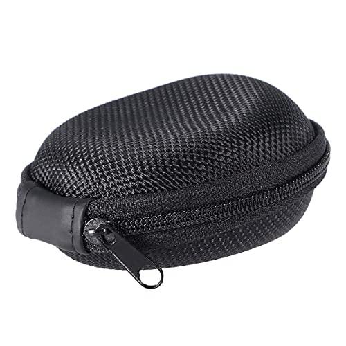 Portátil de viaje reloj caso titular solo para reloj de pulsera inteligente protección cremallera caso duro caja almacenamiento negro