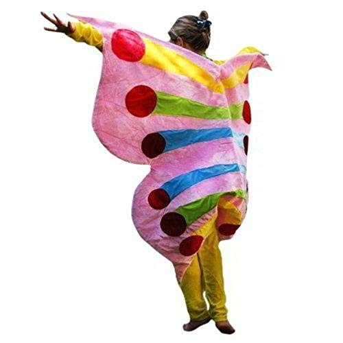 PUS Schmetterling-e Kostüm-e Su34a Gr. M-L, Kat. 3, Achtung: B-Ware Artikel. Bitte Artikelmerkmale lesen! Erwachsene Frau-en Männer Tier-e Raupe-n Fasching-s Karneval-s Geburtstag-s Geschenk-e