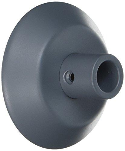 Anglepoise - Inserto de escritorio, metal, gris, slate grey