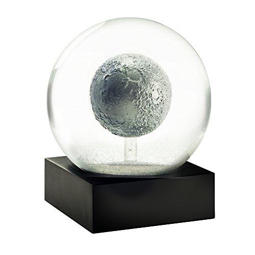 CoolSnowGlobes Moon Cool Snow Globe