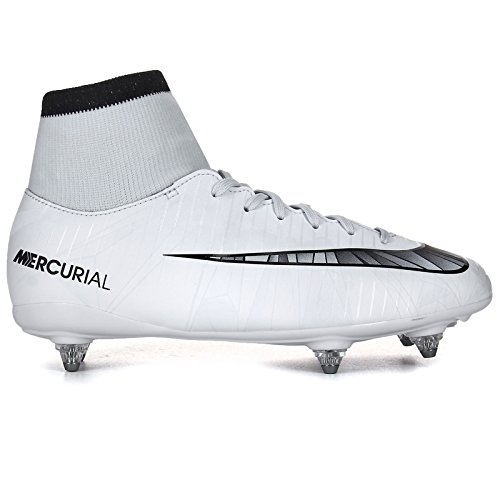 Nike Junior Mercurial Victory Vi CR7 DF SG Football Boots 903593 Soccer Cleats (UK 4 US 4.5Y EU 36.5, Blue Tint Black White 401)