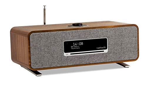 Ruark Audio R3 Wireless Music System with DAB/DAB+ / Internet Radio/CD Player/Bluetooth/WiFi/Spotify Connect/Tidal/Deezer/Amazon Music (Walnut)