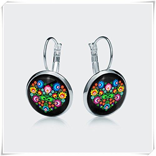 Liebes-Ohrringe, kuppelförmiger ...