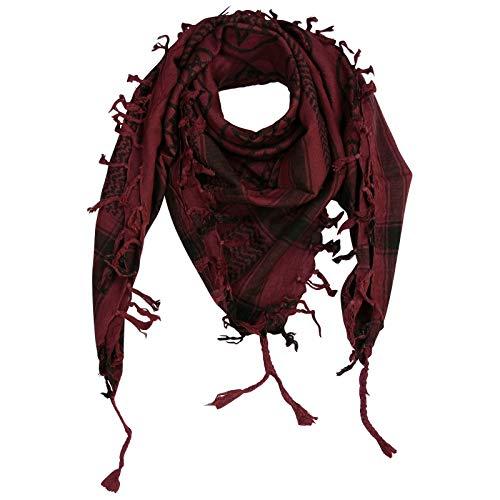 Superfreak® Pañuelo pali con estampado de estrella de cinco puntas°chal PLO°100x100 cm°Pañuelo palestino Arafat°100% algodón – ¡Todos los colores!