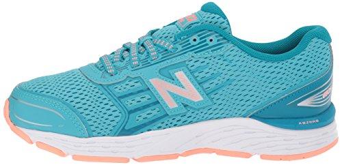 New Balance - - Unisexe Enfant KR680 Chaussures, 33.5 EUR, Deep Ozone Blue/Fiji