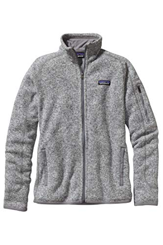 Patagonia W's Better Sweater JKT Jacke, Damen XL grau