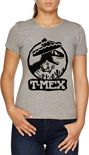 Vendax T-Mex - Mexican Camiseta Mujer Gris