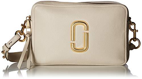 Marc Jacobs Damen The Softshot 27 Tasche, Elfenbein (cremefarben), Einheitsgröße