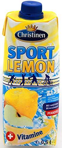 Christinen Sport Lemon, 24er Pack (24 x 500ml)