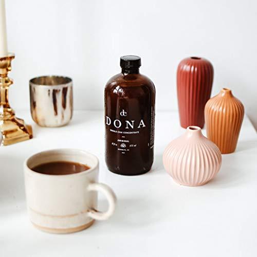 Dona Masala Chai Concentrate (16oz Bottle Two Pack) Liquid Chai Tea Concentrate