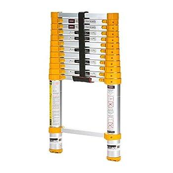 Xtend & Climb Home Series 770P+ Telescoping ladder yellow
