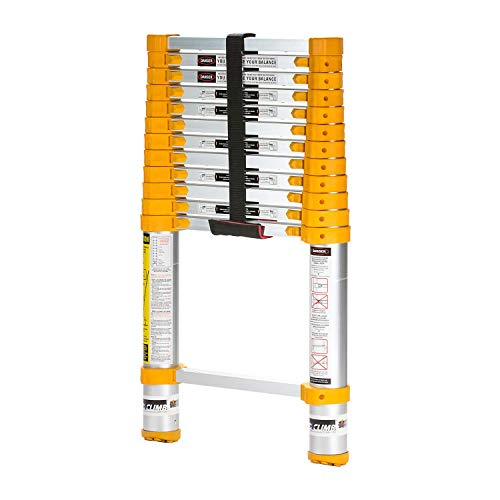 Xtend & Climb Home Series 770P+ Telescoping ladder, yellow