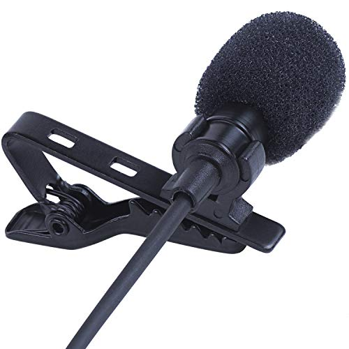 commercial SoLID (TM) Reverse Lapel Microphone Pack 2 Desktop PC with Complete Omnidirectional Microphone Set … lavalier microphones