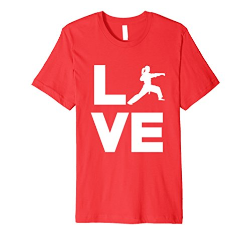 Mens Karate Loving Girl Karate Judo Martial Arts Clothing Small Red