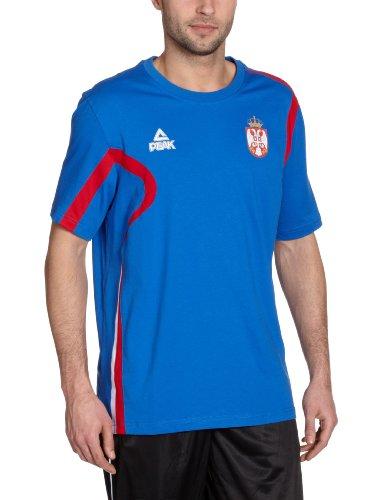 Peak Sport Europe, Maglietta Uomo, KSS08, Blu (Royal), L