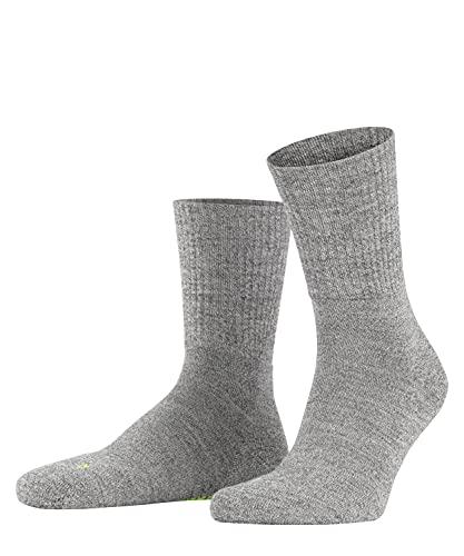 FALKE Unisex Socken Walkie Light, Schurwolle Polyamid, 1 Paar, Grau (Graphite Melange 3060), 39-41 (UK 5.5-7.5 Ι US 6.5-8.5)