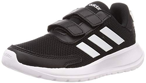 adidas TENSAUR Run C, Scarpe da Corsa Unisex-Bambini, Core Black/Ftwr White/Core Black, 34 EU