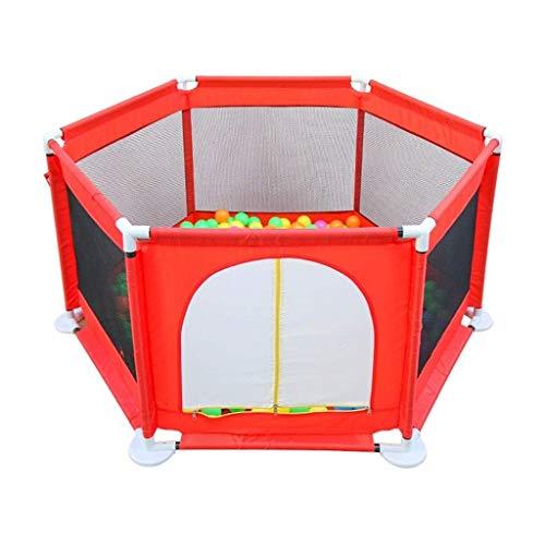 XBXD - Parque de Juegos portátil y Ampliable para niños pequeños, con Valla de Seguridad de 120 x 65 cm