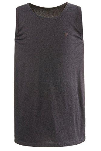 JP 1880 Herren große Größen bis 8 XL, Basic Unterhemd, Tanktop, Ärmellos, Rundhals, anthrazit-Melange 8XL 705145 11-8XL