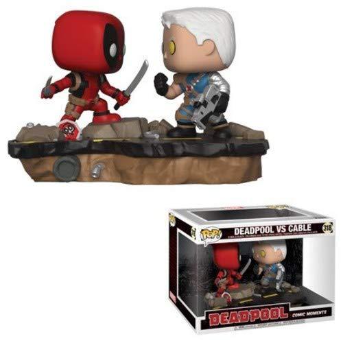 Funko 30972 POP Bobble 2-Pack: Marvel: Movie Moments: Deadpool Vs Cable