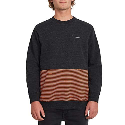 Volcom Herren Forzee Crew Sweatshirt, Burnt Orange, M