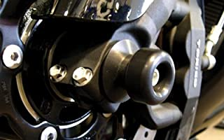 PR/FRONT AXLE SLIDER BLK ZX6R