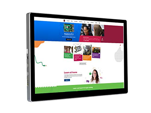 Waveshare 9inch 2560×1600 2K Resolution IPS Capacitive Touch Monitor,Support Raspberry Pi, Jetson Nano and PC with Mini HDMI Port and Fully Laminated Toughened Glass Panel