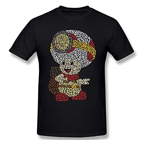 Captain Toad Treasure Tracker Super Mario Toadette Game Tshirts for Men Cool Funny Crewneck Cotton T Shirt 2020 Black S