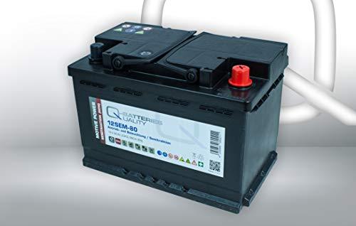 Q-Batteries 12SEM-80 12V 80Ah (C20) Semitraktionsbatterie