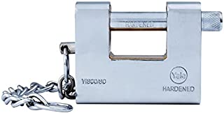 Yale Y1800/80/117/1 Solid Brass Armor Plated Padlock