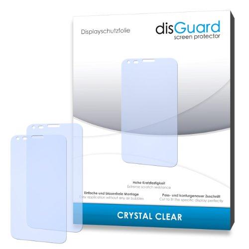 disGuard 3RY035905 3-er hartbeschichtet Crystal Clear Bildschirmschutzfolie für Kazam Trooper X5.0/X-5.0