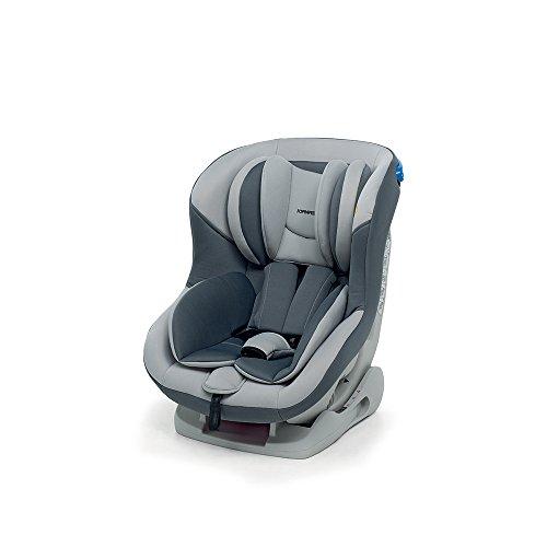 Foppapedretti Mydrive Seggiolino Auto, Gruppo 0/1 (0-18kg), per Bambini dalla Nascita fino a 4 Anni, Grigio