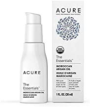 Acure Organics - The Essentials Moroccan Argan Oil, Organic Facial Oil for Dry, Sensitive Skin - 1 oz (2 Pack)