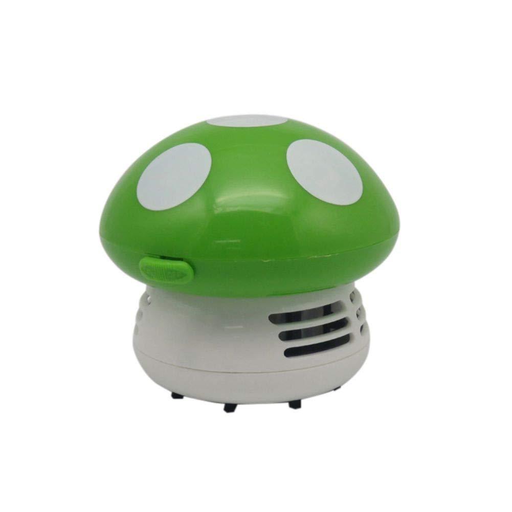 ANLUQIRIYON Limpiador de teclado Forma de hongo Aspirador de mano inteligente Mini escritorio Barredora de mesa inalámbrica: Amazon.es: Hogar