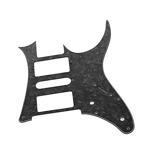 pedkit HSH Guitarra Eléctrica Pickguard PVC Pick Guard Scratch para Ibanez g250 Repuesto de Guitarra Black Pearl 3 Ply