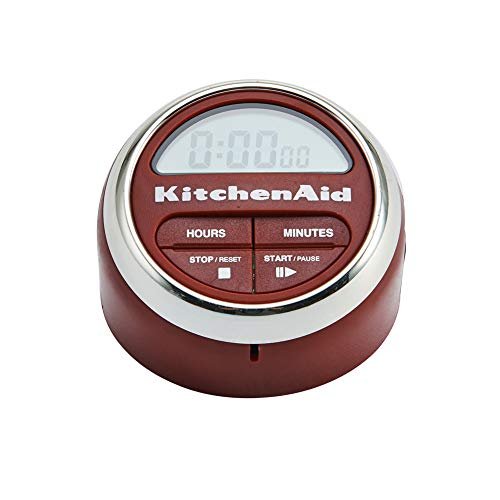 KitchenAid Digital Kitchen Timer, Red - KC150OHERA