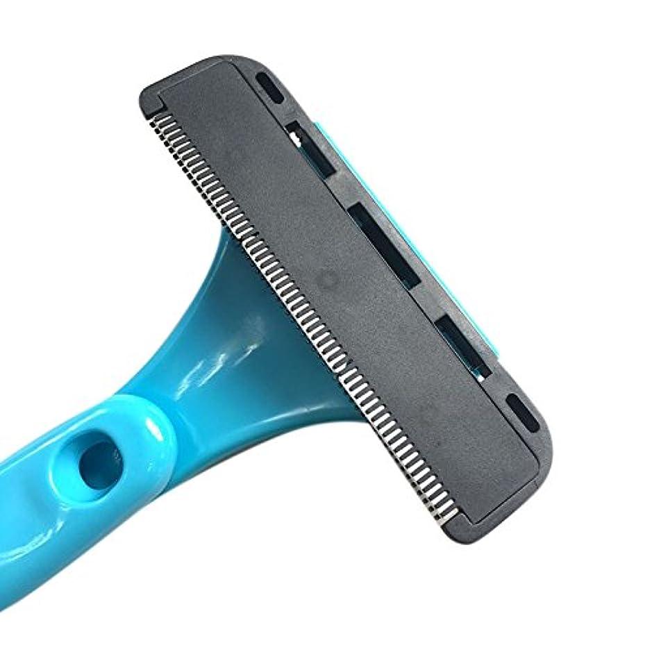 ラップトップ刺す蛾Liebeye 折りたたみ式 脱毛装置 絶妙な 手動剃刀 シェービング ヘッド 切削ヘッド