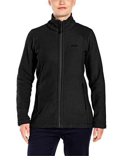 Jack Wolfskin Damen Winnipeg Fleecejacke, Black, L